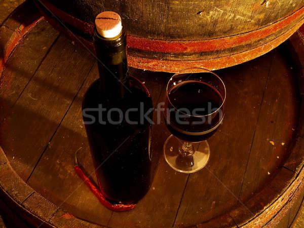 Stock photo: Wine 03
