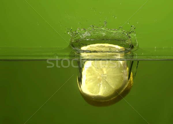 Meyve su soyut meyve arka plan yeşil Stok fotoğraf © Ariusz
