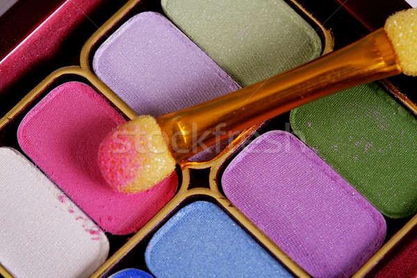 Renkli makyaj kozmetik moda Stok fotoğraf © Ariusz