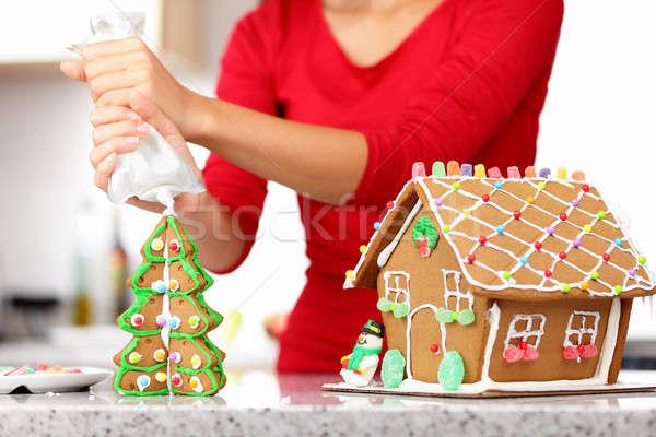 gingerbread house Stock photo © Ariwasabi