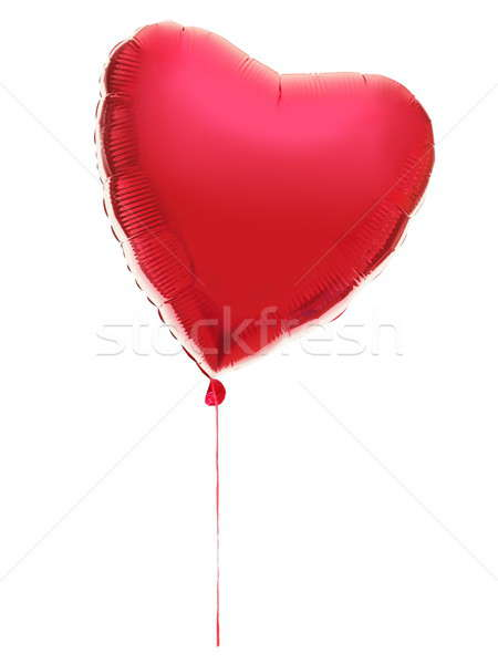 Red Heart ballon Stock photo © Ariwasabi