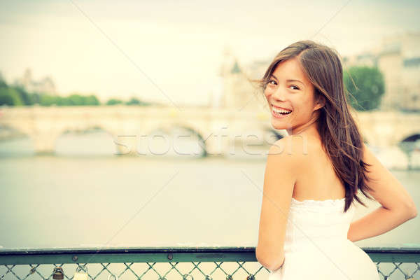 Paris woman Stock photo © Ariwasabi