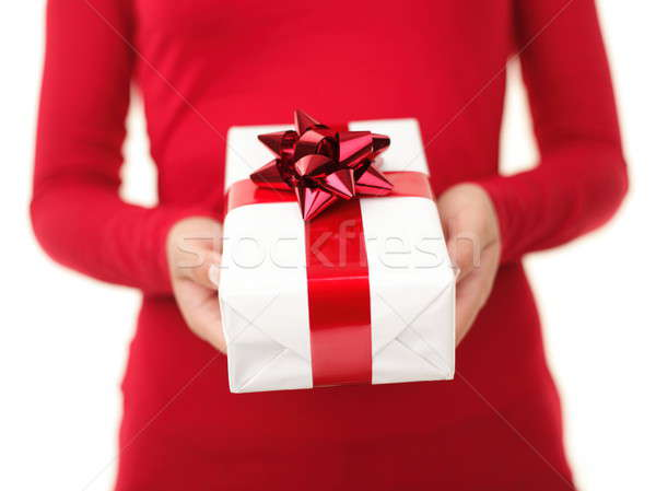 Christmas gift Stock photo © Ariwasabi
