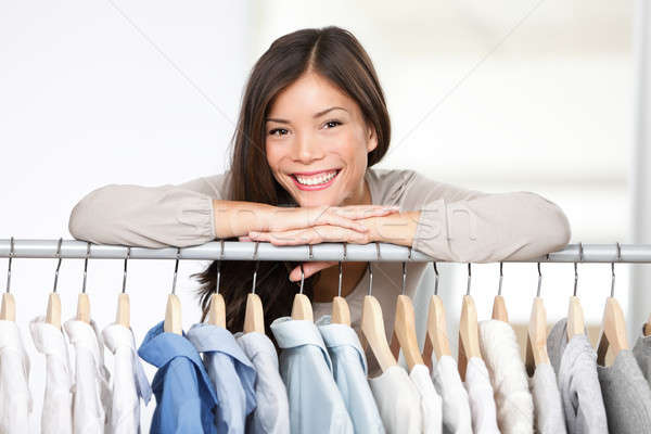 Business owner - clothes store. Stock photo © Ariwasabi