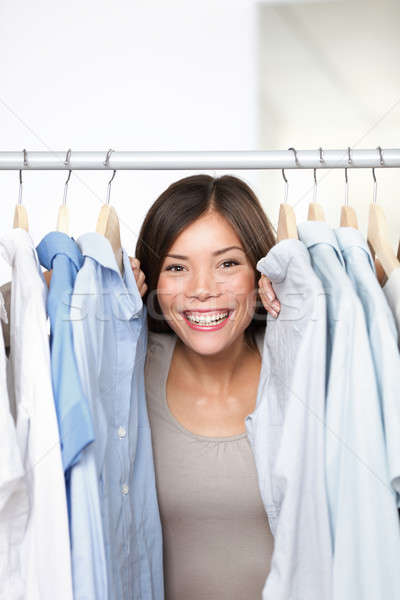 Small business clothing shop owner Stock photo © Ariwasabi
