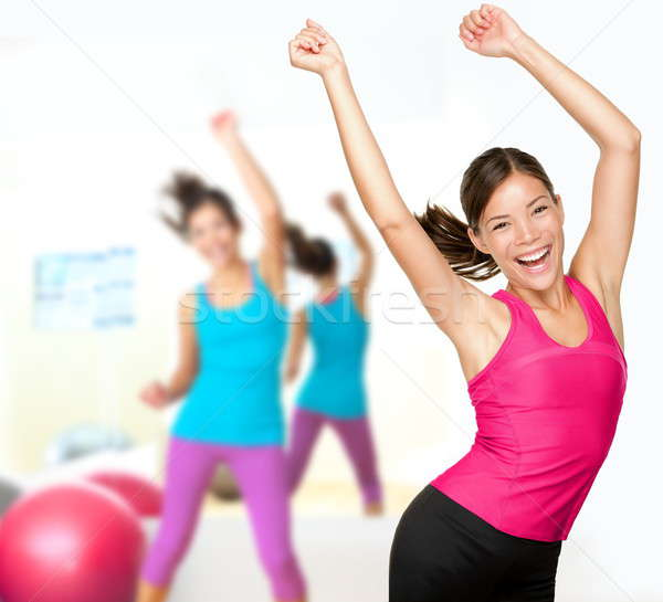 Fitness dance zumba class Stock photo © Ariwasabi
