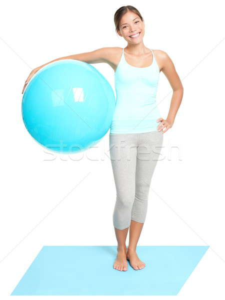 Stock photo: Fitness woman standing