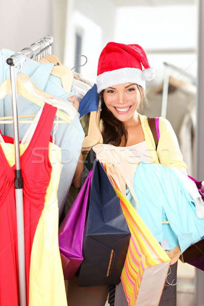 Christmas shopping sale Stock photo © Ariwasabi