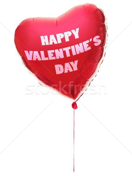 Valentines day heart balloon Stock photo © Ariwasabi