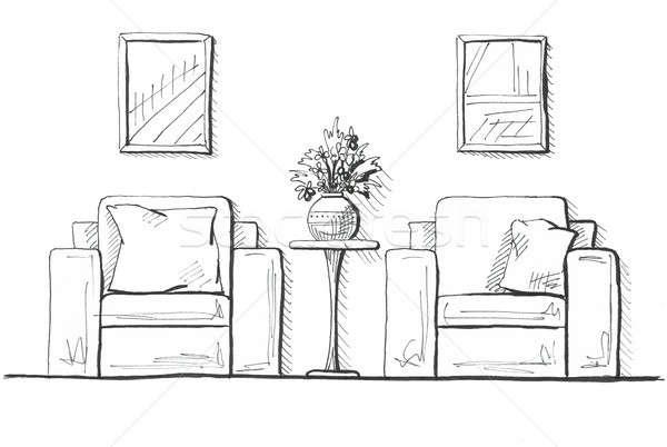 Due alto tavola vaso fiori Foto d'archivio © Arkadivna