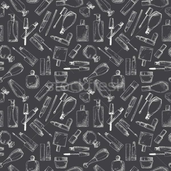 化粧品 マスカラ クリーム 実例 スケッチ ストックフォト © Arkadivna
