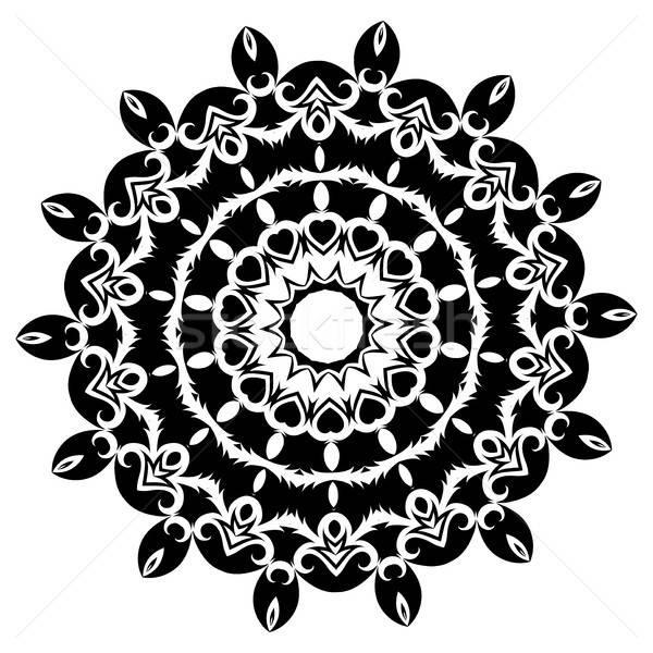 Mandala etnicznych dekoracyjny elementy vintage orientalny Zdjęcia stock © Arkadivna