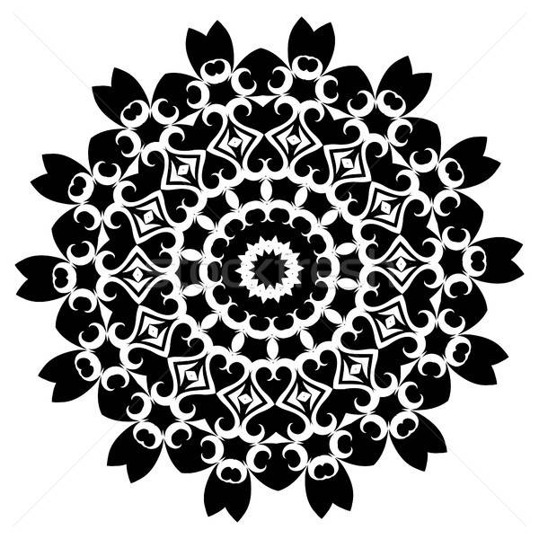 Mandala étnicas decorativo elementos vintage Foto stock © Arkadivna