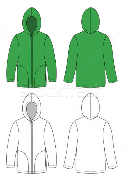 Unisex hoodie  Stock photo © arlatis