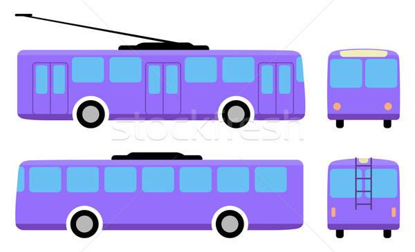 Trolleybus Stock photo © arlatis