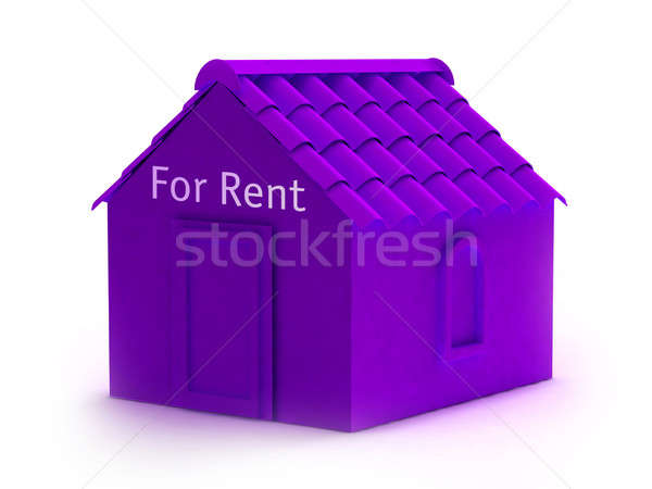 House for rent Stock photo © arlatis