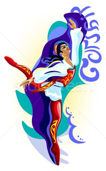 Balerin adam dans bale ücretsiz yaşam tarzı Stok fotoğraf © arlatis