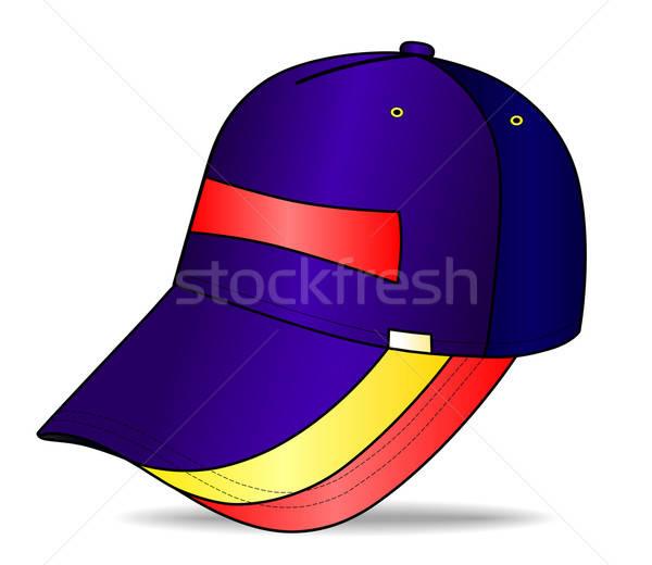 Baseballsapka izolált fehér divat sportok baseball Stock fotó © arlatis