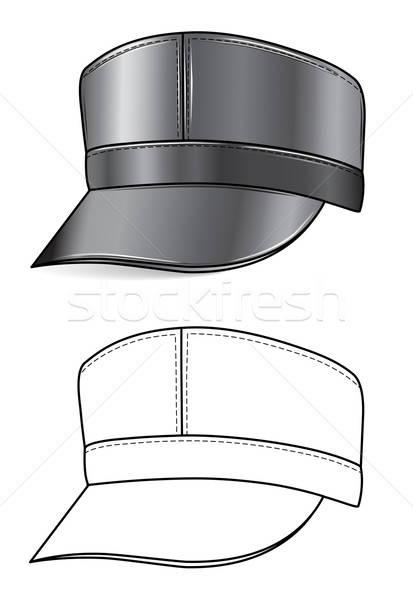 革 キャップ 男 デザイン 帽子 ギア ストックフォト © arlatis