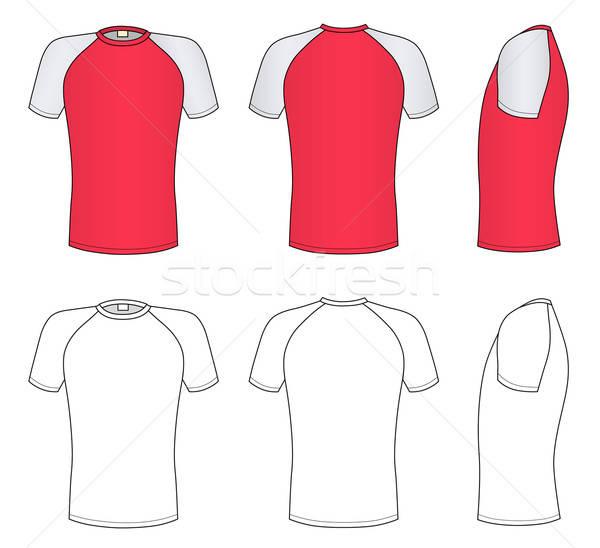 Raglan sleeve t-shirt  Stock photo © arlatis