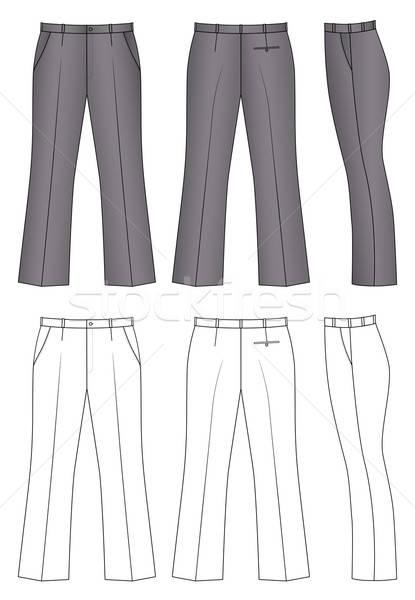 Outline pants Stock photo © arlatis