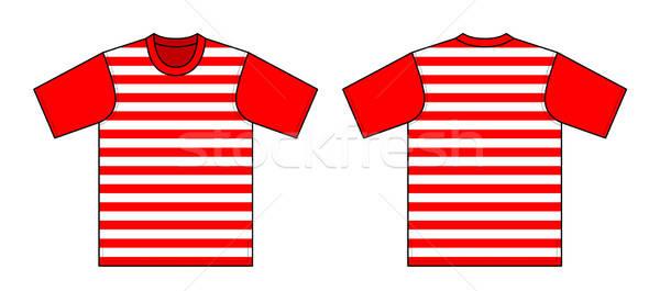 Zdjęcia stock: Tshirt · kobieta · moda · projektu · zakupy · chłopca