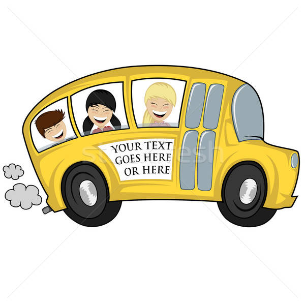 Cool Bus: Cool Bus Vector Illustration © Arleevector (#6045570