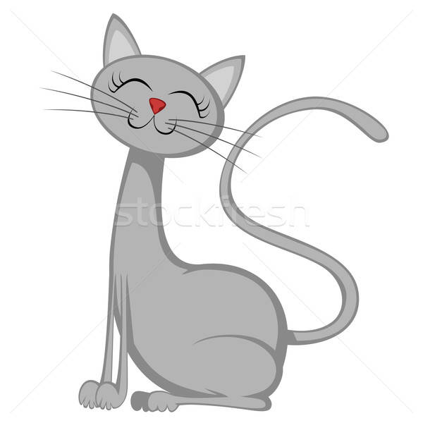 Cute cats Stock photo © arleevector