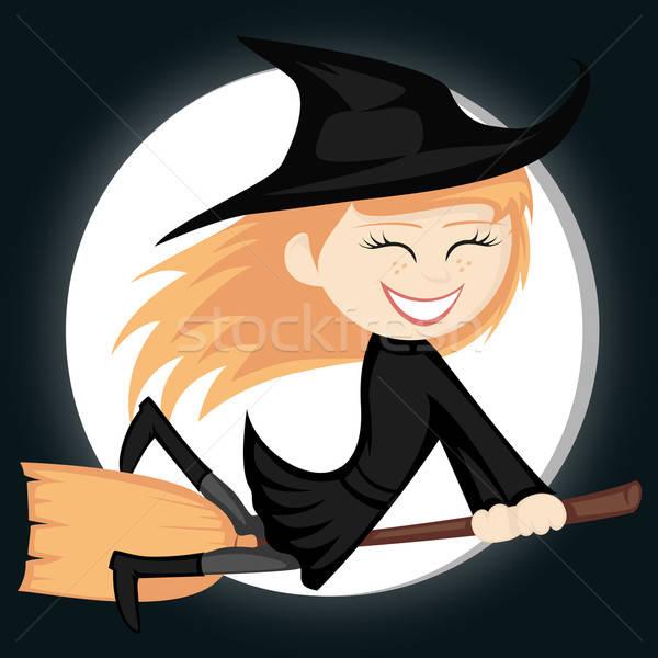 Stock photo: Witches all around