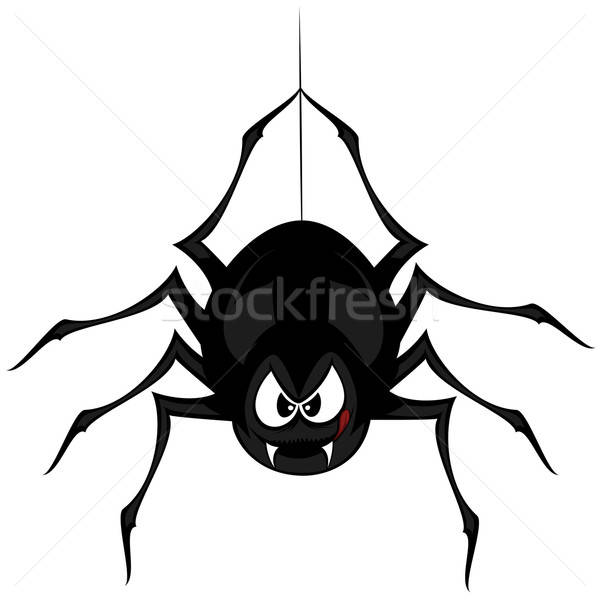 Funny freaky spider Stock photo © arleevector