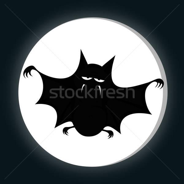 Funny freaky bat Stock photo © arleevector