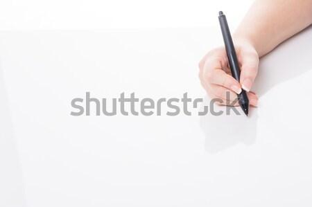 to be in the black Stock photo © armin_burkhardt