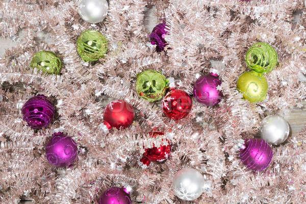 little christmas balls Stock photo © armin_burkhardt