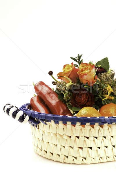 Lunch basket Stock photo © armin_burkhardt