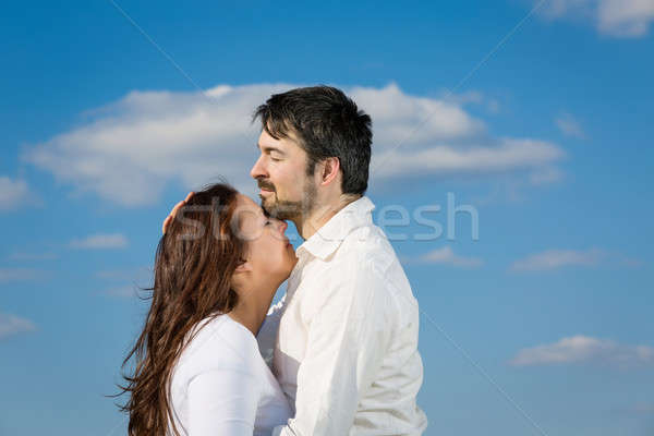 love couple Stock photo © armin_burkhardt