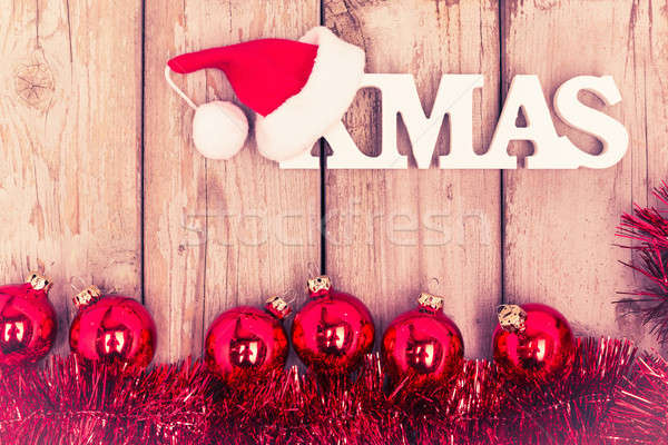 red christmas background Stock photo © armin_burkhardt