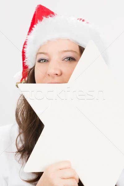 christmas star Stock photo © armin_burkhardt