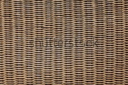 background and structure dark wood basket Stock photo © armin_burkhardt