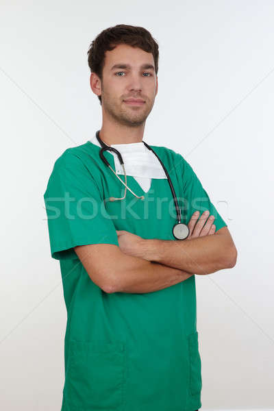 Surgeon Stock photo © armstark
