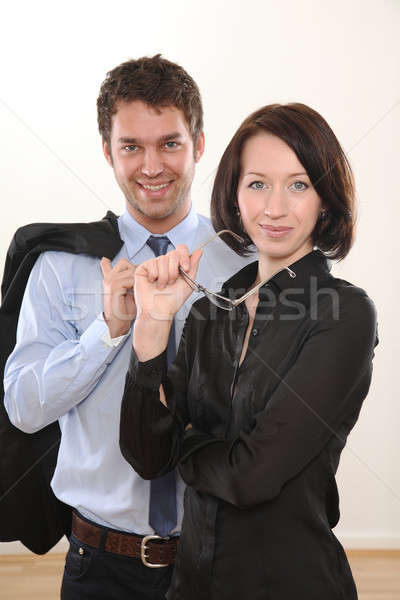 Man and Woman Business Stock photo © armstark