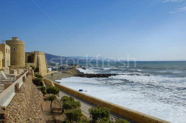 Côte ville andalousie Espagne eau mer Photo stock © arocas