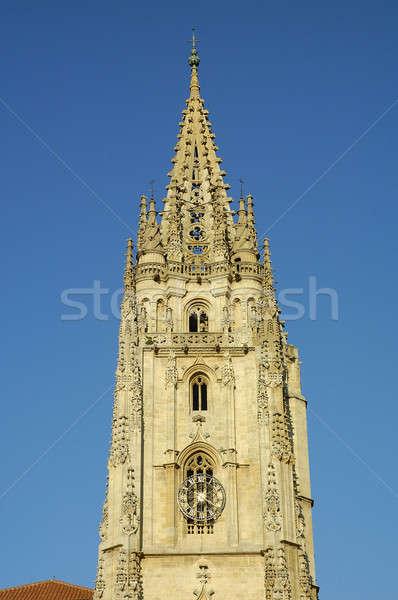 Cathédrale ciel ville Espagne Photo stock © arocas