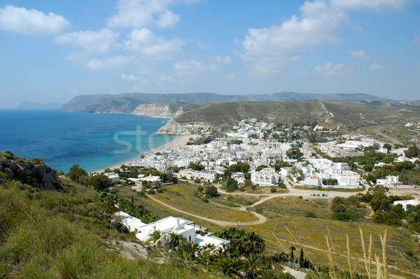 Peu ville andalousie Espagne plage ciel Photo stock © arocas