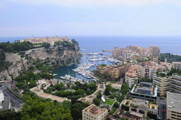 Monaco vue ville mer ciel Photo stock © arocas