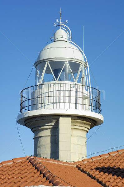 Suances lighthouse Stock photo © arocas