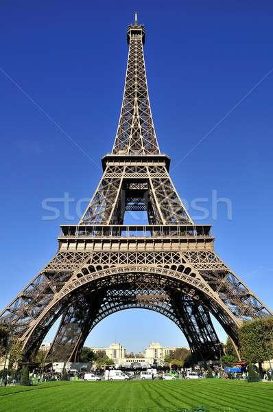 Tour Eiffel une ciel métal usine tour Photo stock © arocas