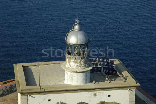 Cala Nans lighthouse Stock photo © arocas