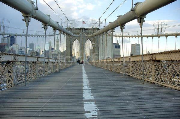 Brooklyn bridge Stock photo © arocas