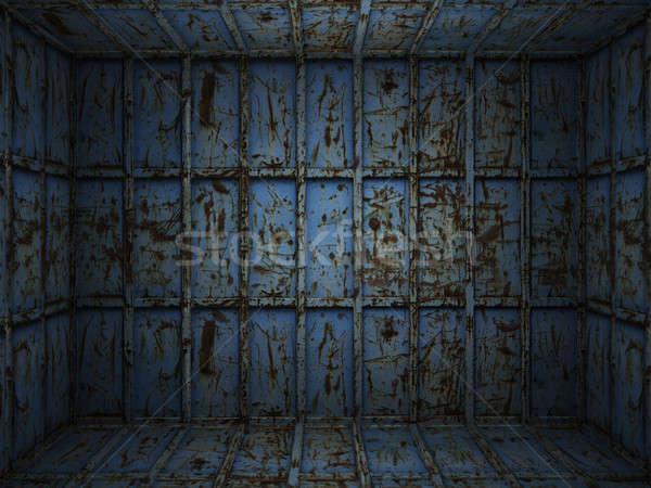 интерьер металл ржавые комнату сцена Сток-фото © arquiplay77