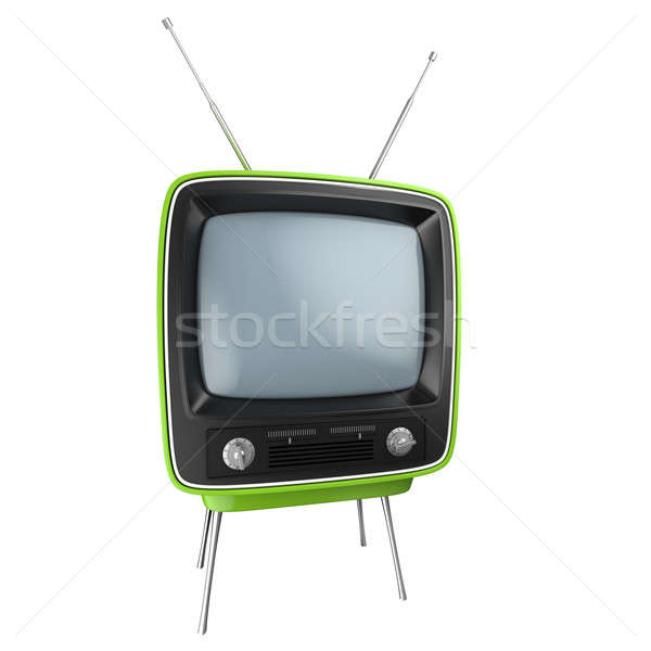 Retro TV isolated Stock photo © arquiplay77